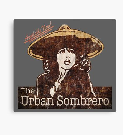 The Urban Sombrero Canvas Print