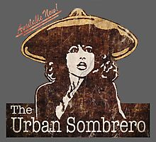The Urban Sombrero Photographic Print