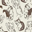 cat print by lilathl