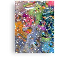 Coloured Reflection Canvas Print