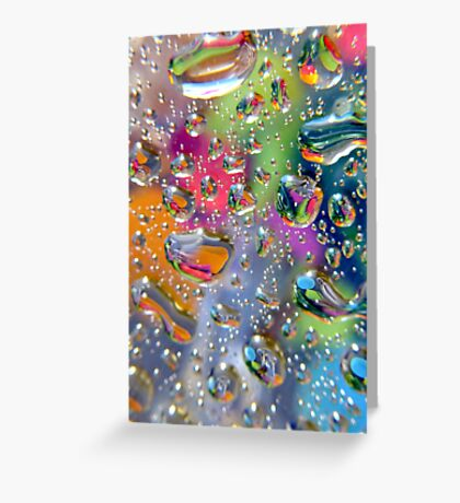 Coloured Reflection Greeting Card