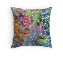Coloured Reflection Throw Pillow