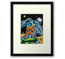 GIANT ROBOT SLAYER Framed Print