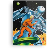 GIANT ROBOT SLAYER Metal Print