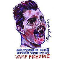 Vamp Freddie Photographic Print