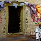 WASH DAY - JAISALMER by Michael Sheridan