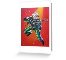 SPACEMAN Greeting Card