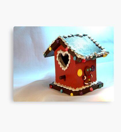 Gingerbread House III Canvas Print