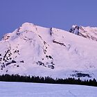 Blue hour on Merdassier mountain by Patrick Morand