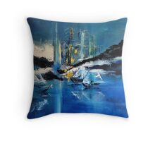 Arctic Dream Point of View Throw Pillow