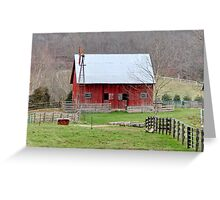 Barn Harrodsburg, Indiana Greeting Card