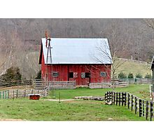 Barn Harrodsburg, Indiana Photographic Print