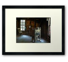 Window Seat Framed Print