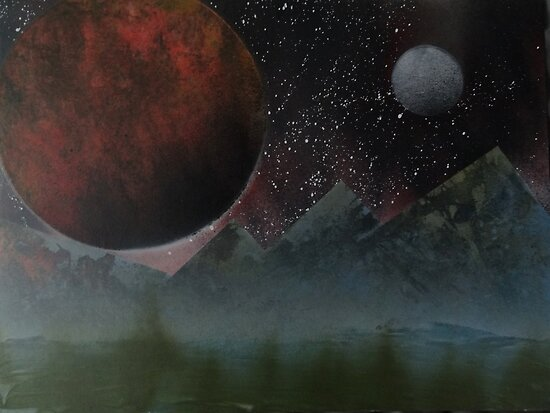Blood Planet by Andrew Kinsey