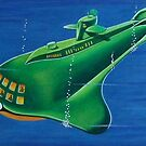 SEAVIEW SUBMARINE by ward-art-studio