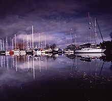 Reflections on water.  by Colin Munro