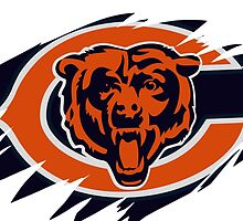 Bears Logo Battle Scarred by KeithSwo