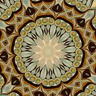 Baroque Earth tones Rosette- R92 by Heidivaught