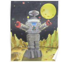 B-9 ROBOT LOST IN SPACE Poster