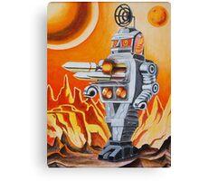 MISSLE ROBOT Canvas Print