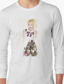 TWICE 'Hirai Momo' Typography Long Sleeve T-Shirt