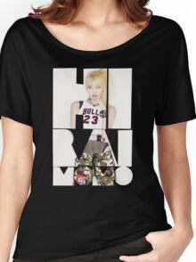 TWICE 'Hirai Momo' Typography Women's Relaxed Fit T-Shirt