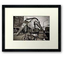 100 Victoria Street - London Framed Print