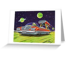 SPACE JET VEHICLE Greeting Card