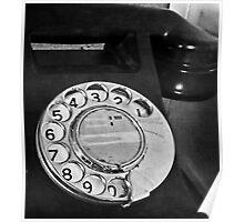 antique phone Poster