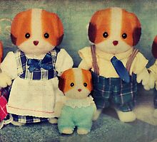 Chiffon Dog Family by Tangerine-Tane