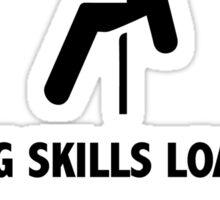 Climbing Skills Loading Sticker