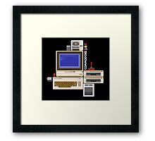Hail the Commodore 64 Framed Print