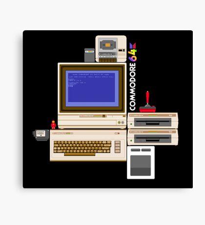 Hail the Commodore 64 Canvas Print