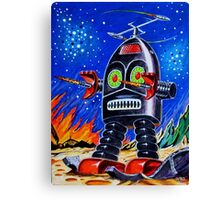 THUNDER ROBOT Canvas Print