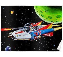 V-7 SPACE SHIP Poster