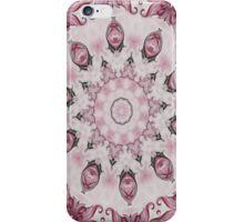 Rococo Pink Rosette- R95 iPhone Case/Skin