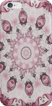 Rococo Pink Rosette- R95 by Heidivaught