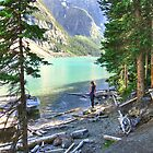 Tranquil Lake Louise by Erykah36