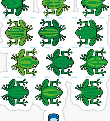 Revenge of the Frogs Sticker