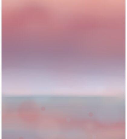 Some kind of seascape Sticker