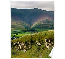 Distant view of Skiddaw Poster