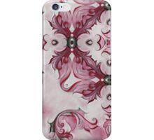 Rococo Pink Rosette- R97a iPhone Case/Skin