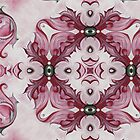 Rococo Pink Rosette- R97b by Heidivaught