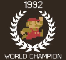 1992 World Champion by boltage69