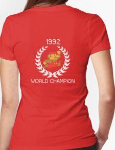 1992 World Champion Womens Fitted T-Shirt
