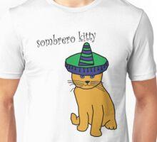 Sombrero kitty Unisex T-Shirt
