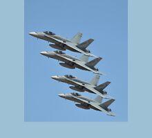 Hornet Formation Flypast, Point Cook Airshow, Australia 2014 Unisex T-Shirt