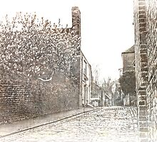 The Old High Street Upnor by Dave Godden