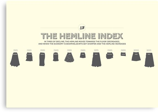 The Hemline Index by Stephen Wildish