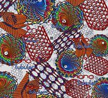 """""""Nano Tubular""""© by Lisa Clark for Thinker Collection - STEM Art"""